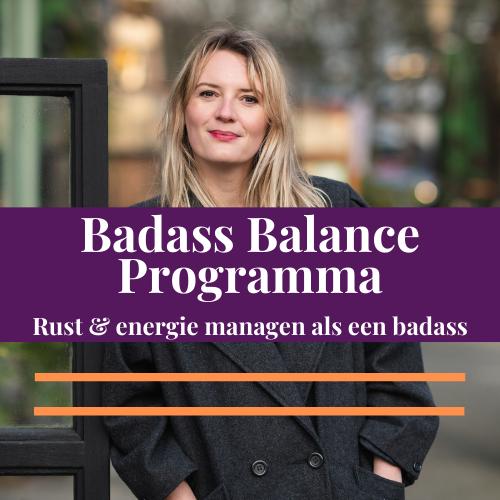 Badass Balance Programma